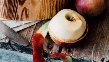 Кожица яблок